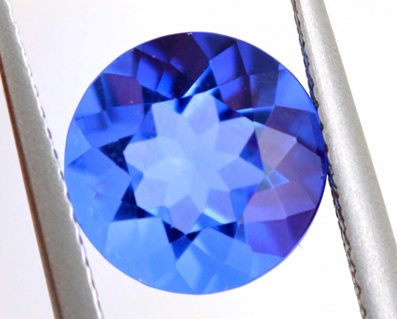 4.56CTS BRAZILIAN FLUORITE FACETED STONE  CG-2903