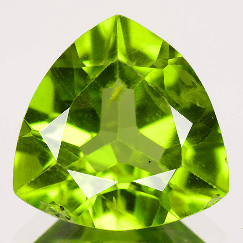 2.48 Cts Amazing Rare Fancy Green Natural Peridot Gemstone