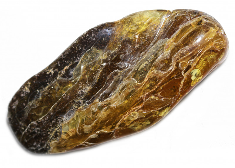 560 Cts  Tumbled Polished Rough Amber  AM 1899