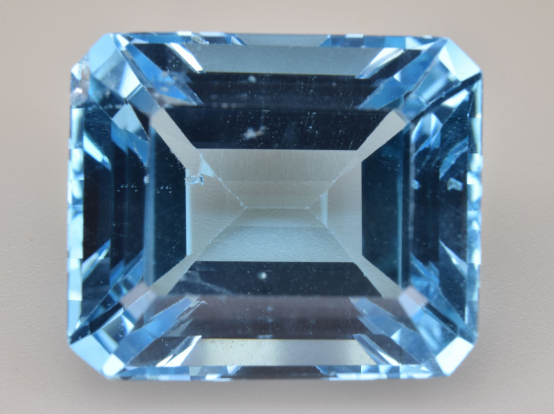 Natural Blue Topaz 17.68 Cts Top Quality Gemstone