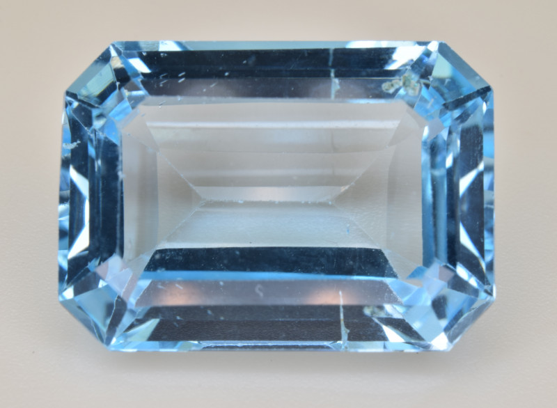 Natural Blue Topaz  17.84 Cts Top Quality Gemstone