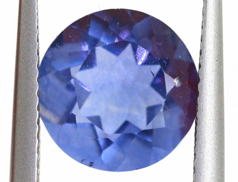 4.20 CTS BRAZILIAN FLUORITE FACETED STONE  CG-2907