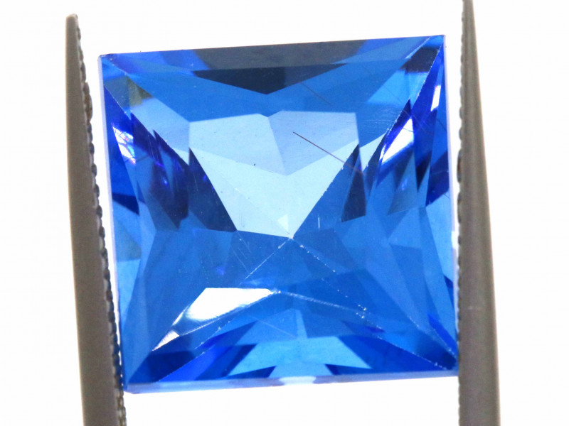16.50-CTS  SWISS BLUE TOPAZ FACETED GEMSTONE  CG-2922