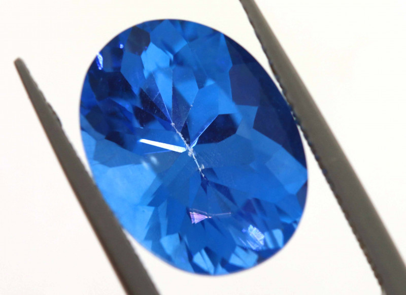 8.80-CTS  SWISS BLUE TOPAZ FACETED GEMSTONE  CG-2923