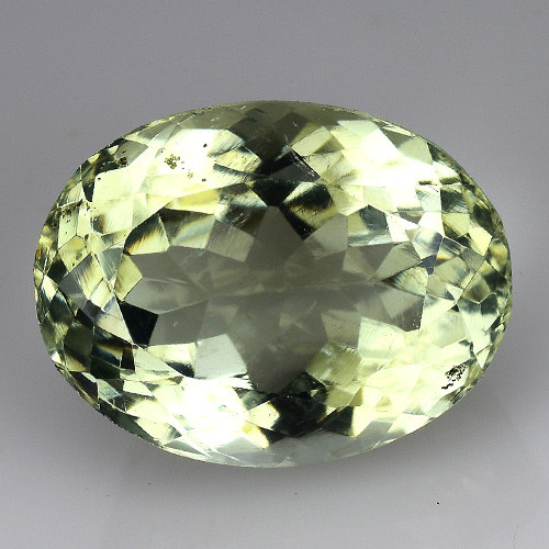 7.37 CT PRASOILITE TOP CLASS CUT GEMSTONE PR23