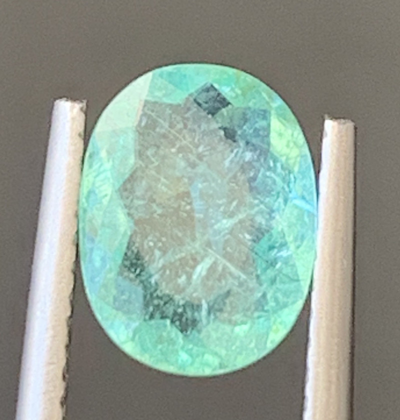 Paraiba 1.45 Carats Natural Color Tourmaline Gemstone