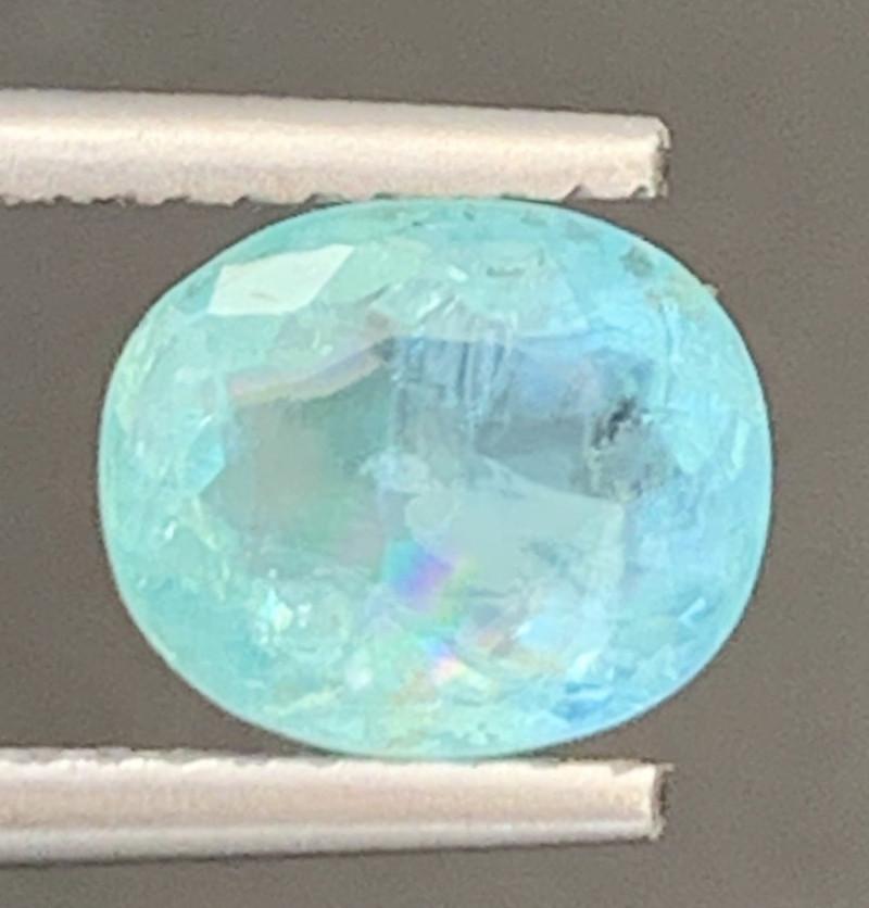 Paraiba 1.75 Carats Natural Color Tourmaline Gemstone