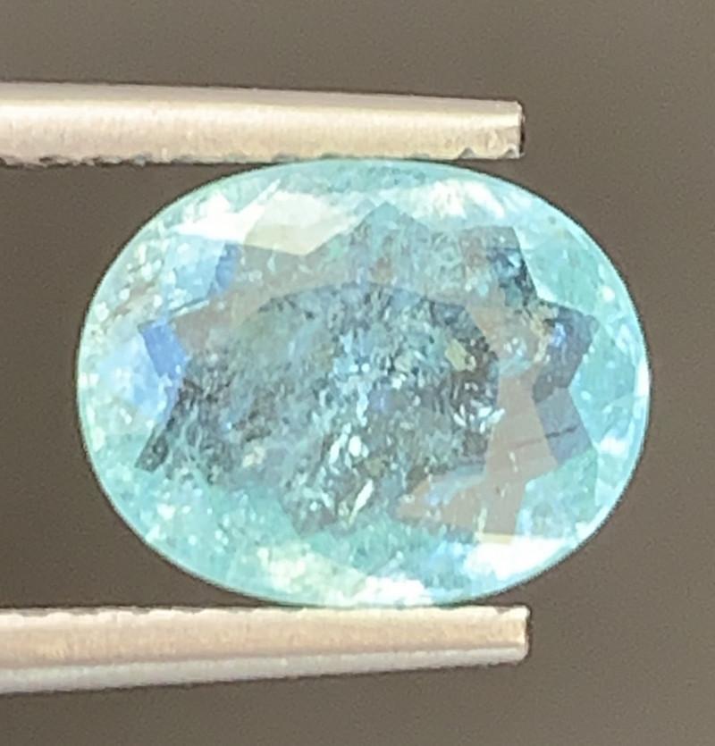 Paraiba 1.65 Carats Natural Color Tourmaline Gemstone