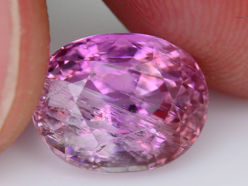 AAA Rarity 3.64 ct Rutile Pink Tanzanite Eye catching Color SKU.26
