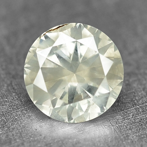 0.15 Cts Untreated Fancy Yellowish Grey Color Natural Loose Diamond