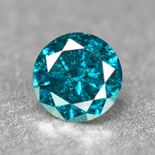 0.11 Cts Sparkling Rare Fancy Intense Blue Color Natural Loose Diamond