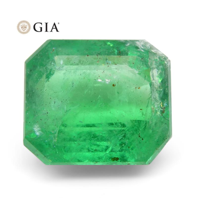 6.52 ct Octagonal/Emerald Cut Emerald GIA Certified