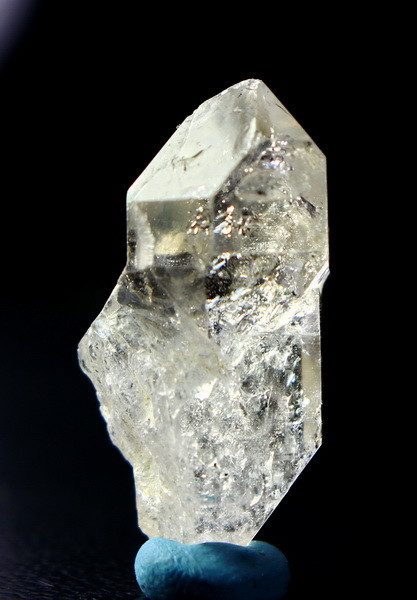 37.70 CT Natural  Beautiful  White  Herkamir Quartz  Crystal