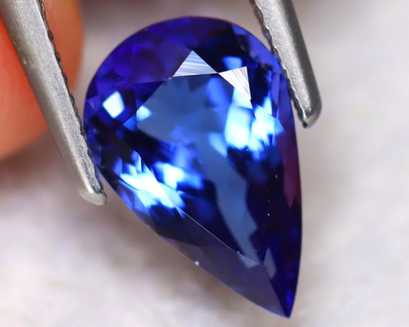 Tanzanite 2.73Ct Natural VVS Purplish Blue Tanzanite DN40/D4