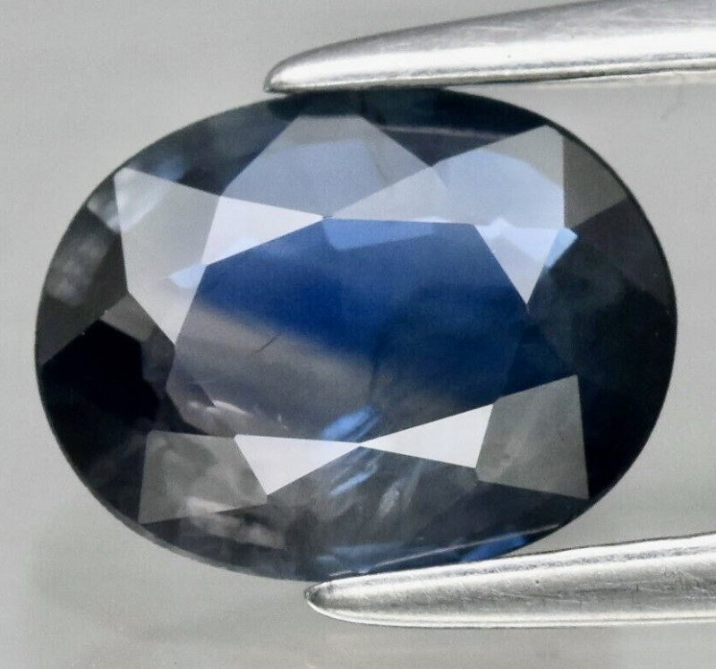 1.30 ct 7.8 x 6 mm Oval Natural Blue Sapphire Thailand