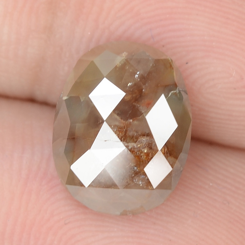 3.18 Cts Untreated Fancy Brown Color Natural Loose Diamond