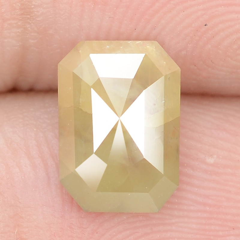 1.25 Cts Untreated Fancy Yellowish Brown Color Natural Loose Diamond