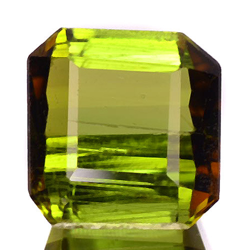1.09 Cts Un Heated Green Color Natural Tourmaline Loose Gemstone