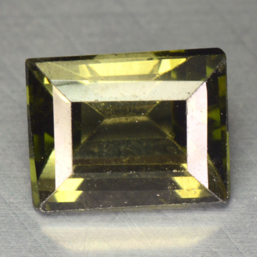 1.53 Cts Un Heated Green Color Natural Tourmaline Loose Gemstone