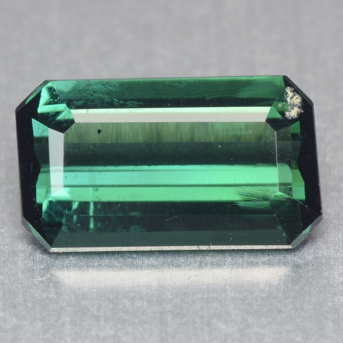 1.36 Cts Un Heated Green Color Natural Tourmaline Loose Gemstone
