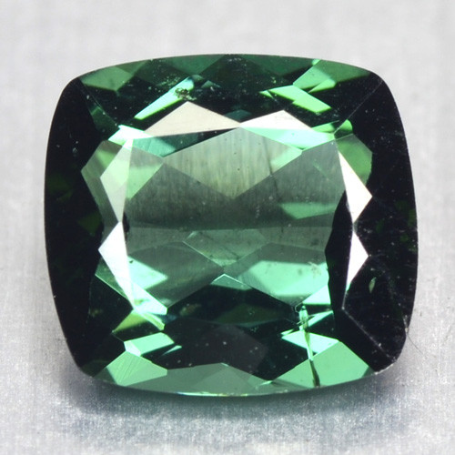 1.07 Cts Un Heated Green Color Natural Tourmaline Loose Gemstone