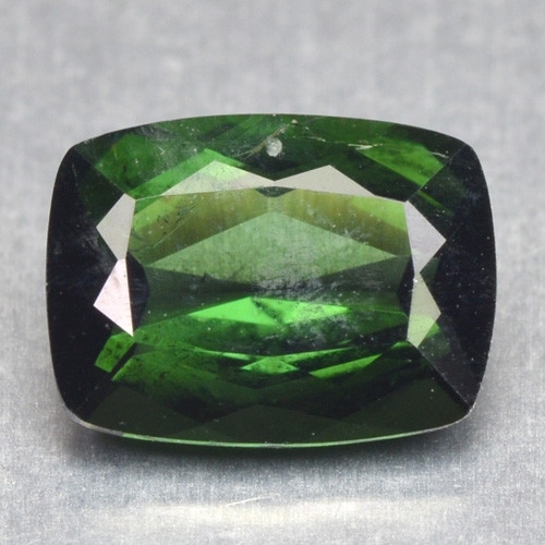 1.32 Cts Un Heated Green Color Natural Tourmaline Loose Gemstone