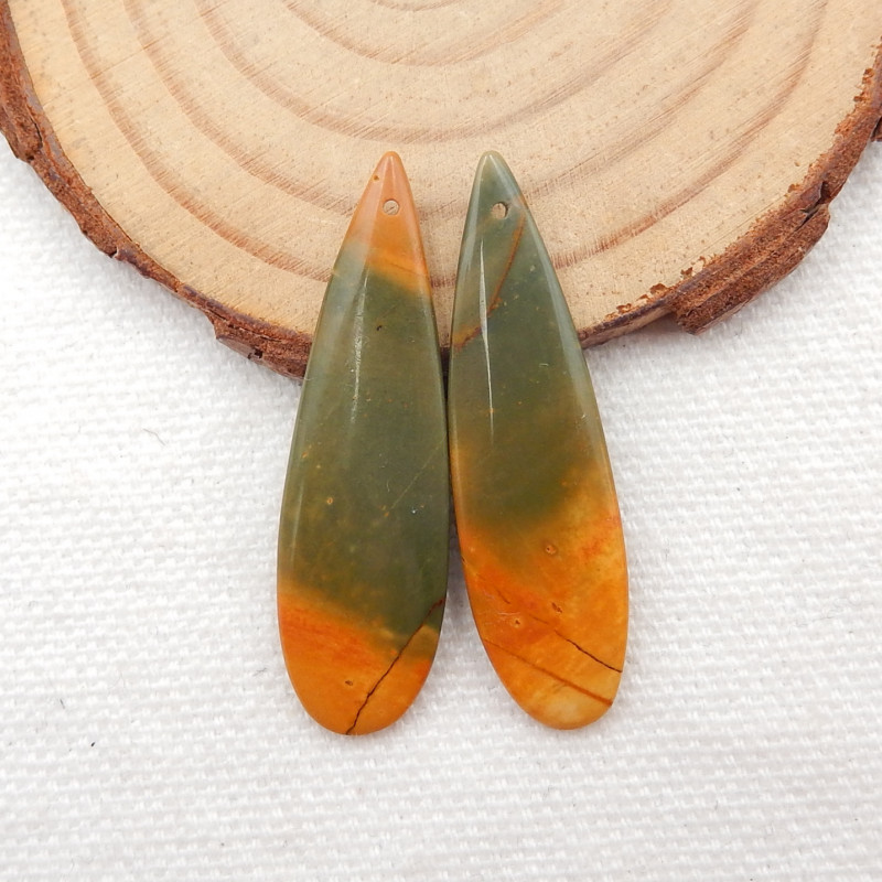 Multi color Jasper Earrings Gemstone earrings beads, stone for earrings mak