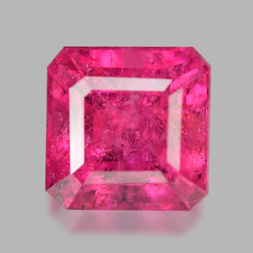 1.22 Cts Un Heated Pink Color Natural Rubellite  Loose Gemstone