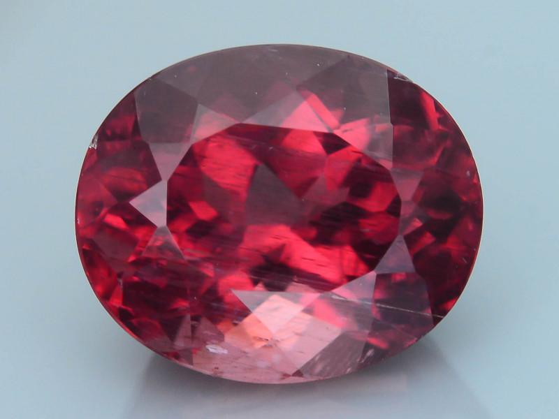 Rare Red Apatite 3.48 ct Amazing Luster SKU.12