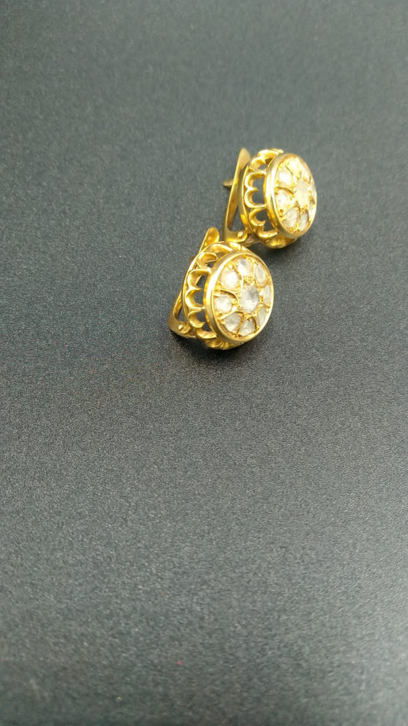 18ct Diamond Earrings