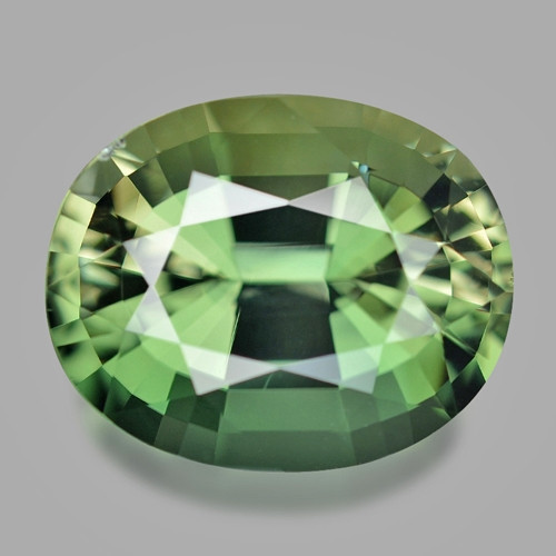 14.56 Cts Un Heated Green Color Natural Tourmaline Loose Gemstone