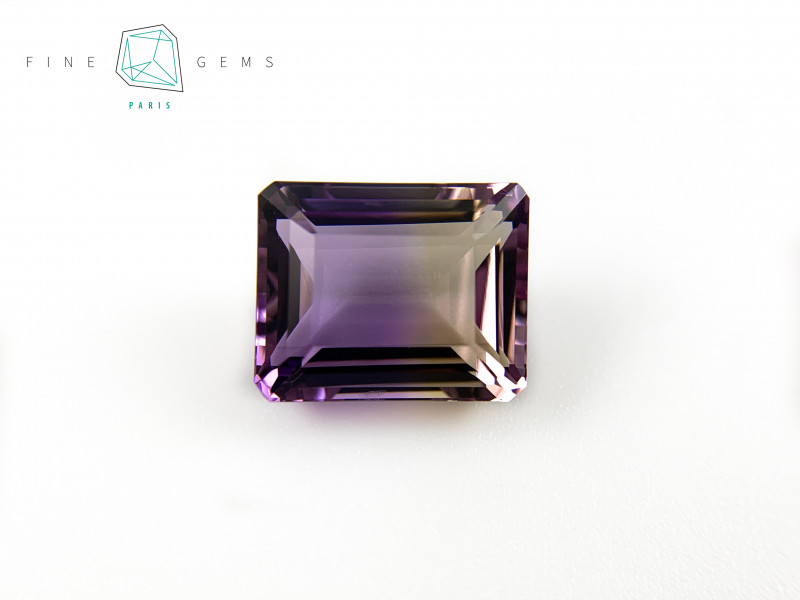 10.91  carats Natural Ametrine Gemstone Octa cut