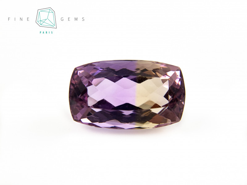 11.45 carats Natural Ametrine Gemstone Cushion cut