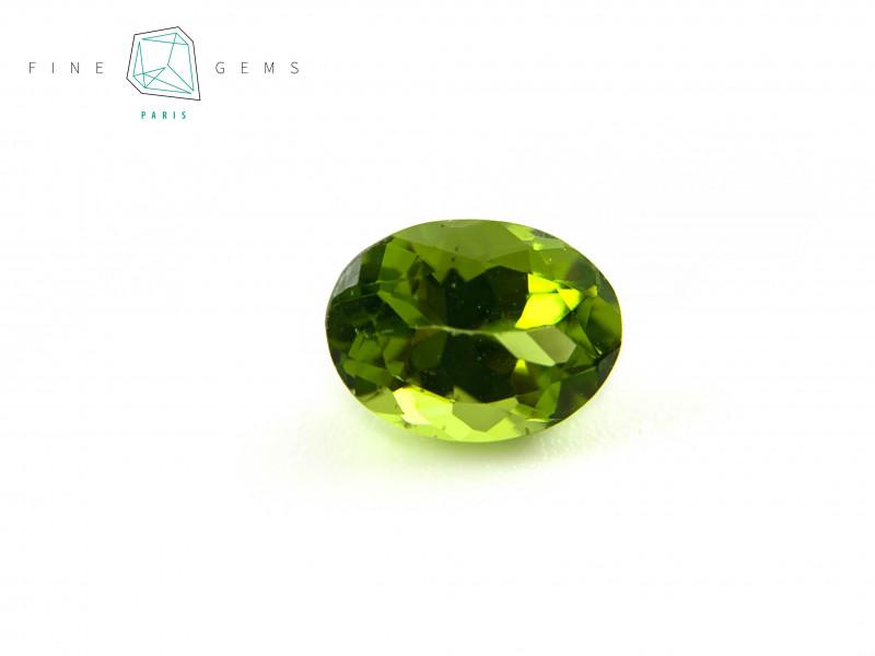 2.47 carats Natural Peridot Gemstone Oval Mixed cut