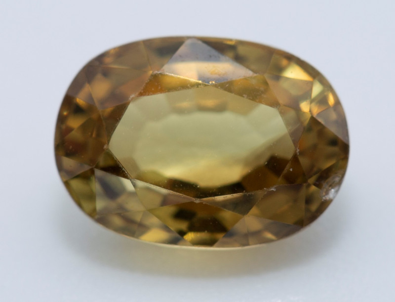 1.30 REDUCED CHRYSOBERYL  A VERY VIBRANT GOLDEN COLOR