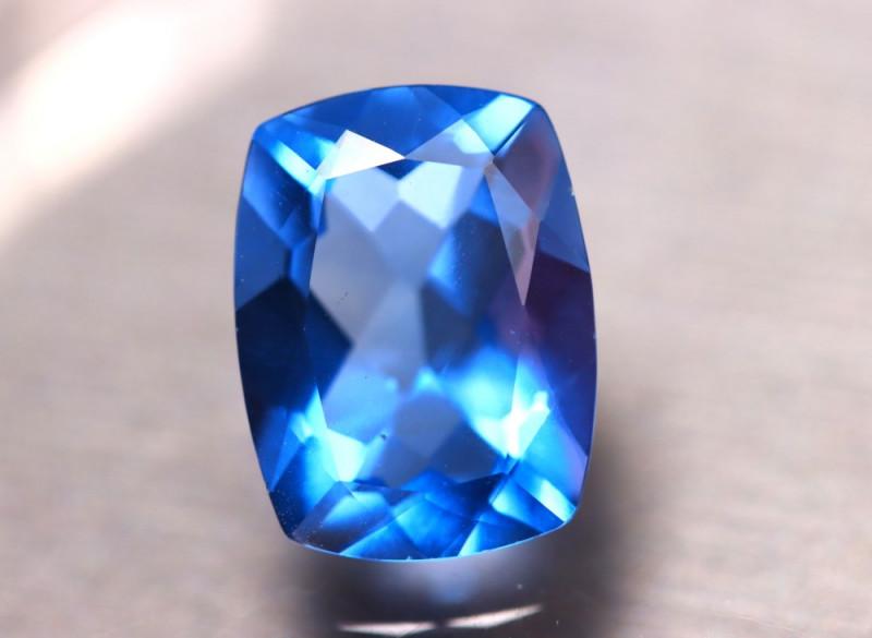 Fluorite 11.41Ct Natural IF Vivid Bule Color Change Fluorite D0820/A49