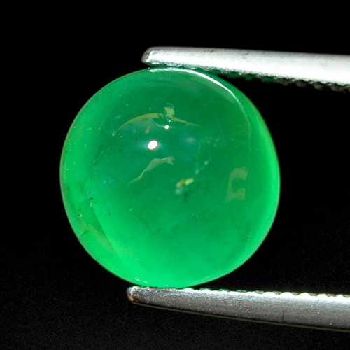 5.95 Cts Natural Earth Mined Vivid Green Color Colombian Emerald Gemstone