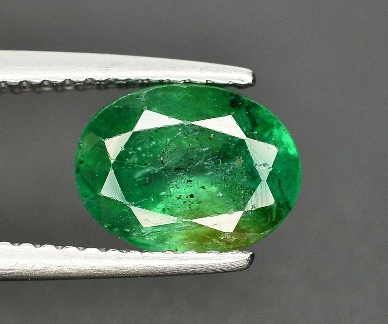 1.65 Ct Brilliant Color Natural Zambian Emerald