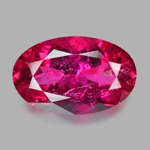 1.81 Cts Un Heated Pink Color Natural Rubellite  Loose Gemstone