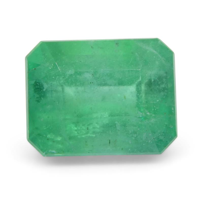 2.45 ct Emerald Cut Emerald