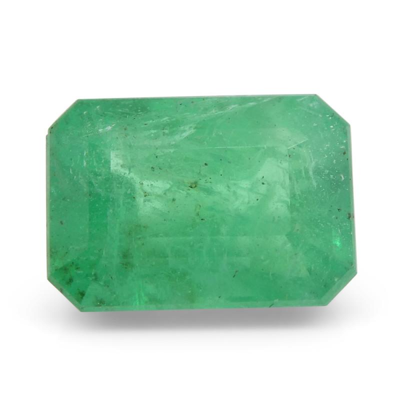 2.36 ct Emerald Cut Emerald