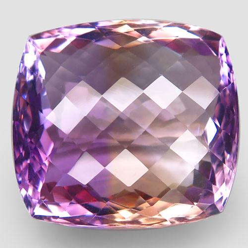 47.24 ct. Natural Top Nice Purple Ametrine Unheated Brazil - IGE Сertified
