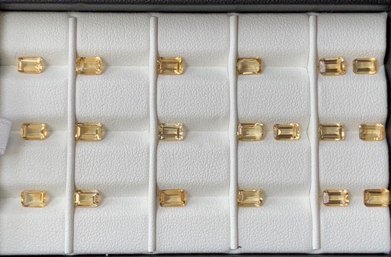 9.50 Carats Citrine  Gemstones Parcel