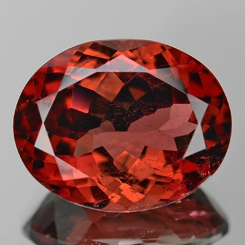 8.05 Cts Unheated Fancy Reddish Brown Color Natural Tourmaline Gemstone