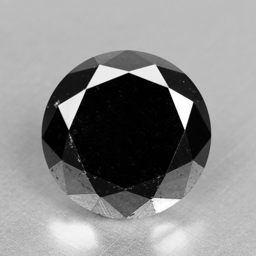0.99 Cts Amazing Rare Fancy Black Color Natural Loose Diamonds