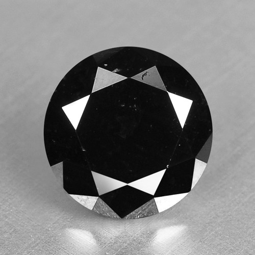 2.01 Cts Amazing Rare Fancy Black Color Natural Loose Diamonds