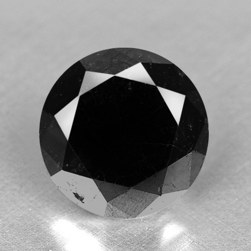 1.79 Cts Amazing Rare Fancy Black Color Natural Loose Diamonds