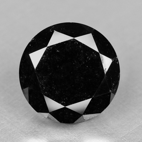 0.80 Cts Amazing Rare Fancy Black Color Natural Loose Diamonds
