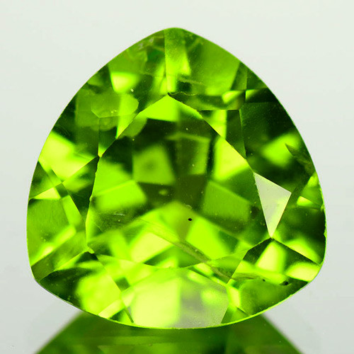 2.48 Cts Amazing Rare Fancy Green Natural Peridot Gemstone