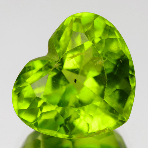 3.35 Cts Amazing Rare Fancy Green Natural Peridot Gemstone